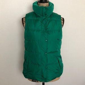 Old Navy Green Puffer Vest